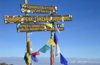 Beklimming Kilimanjaro Machame Route