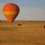 Hete luchtballon Masai Mara Kenia