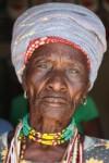 Namibië Herero Vrouw