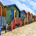 Strandhuisjes Muizenberg Zuid-Afrika